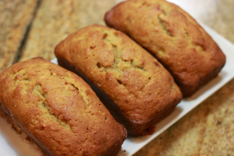 ... filled with bananas so enters one of my fav s super moist banana bread