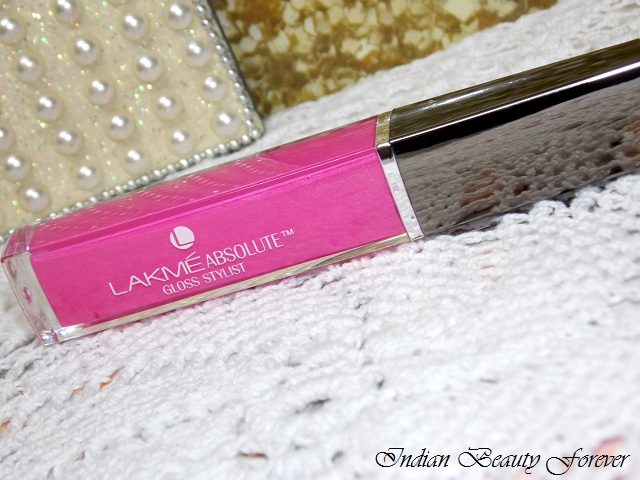 Lakme absolute stylist Lip Gloss Neon pink review