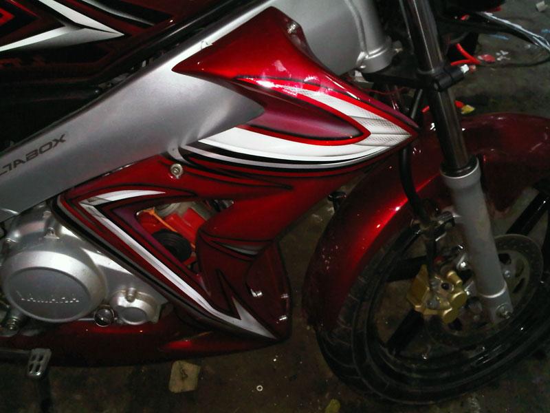 Modif Yamaha Vixion Fairing