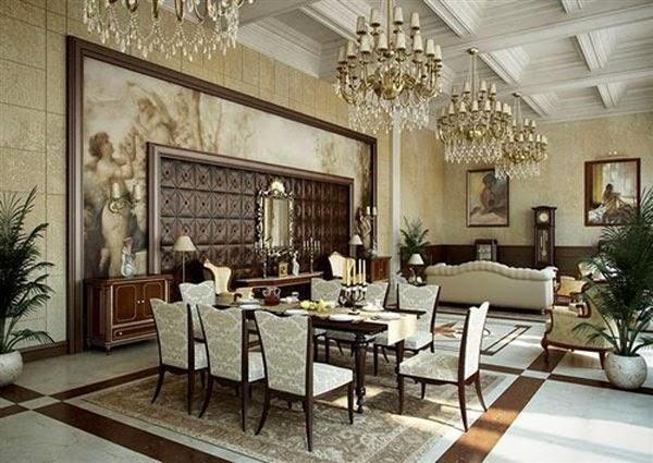 Gold Dining Room Ideas