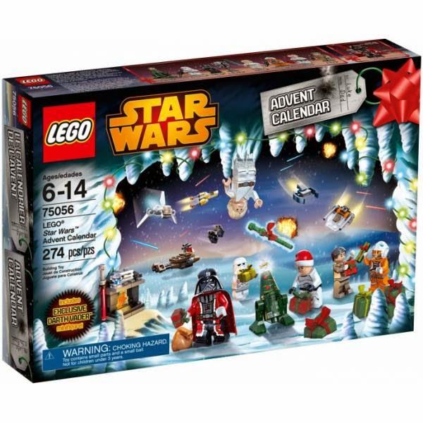 Kalendarz Adwentowy 2014 Star Wars