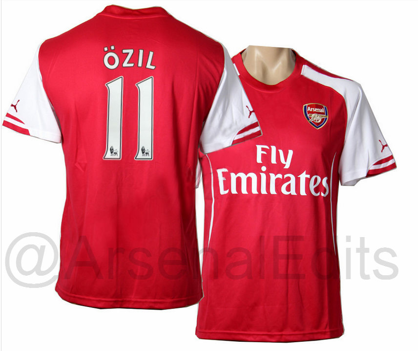 Arsenal 14 15 Home Kit