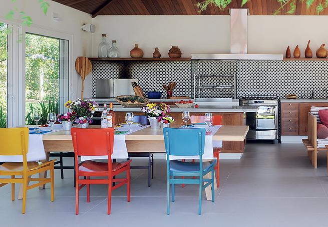 Carla romanelli reas de lazer espa os gourmet for Restos de azulejos baratos