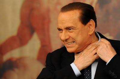 Silvio Berlusconi insicuro