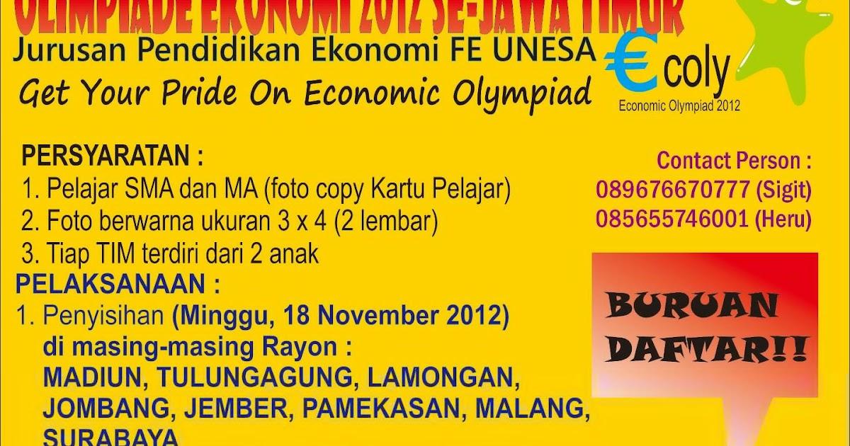Economic Olympiad 2012 – ECOLY