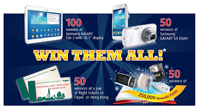 Win Them All, Hong Leong Bank, Samsung Galaxy Tab