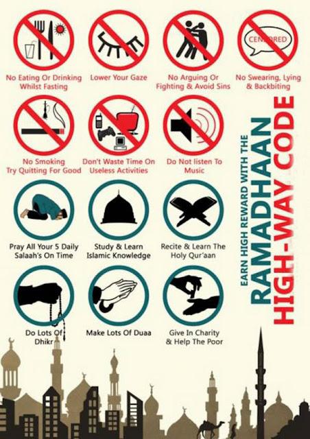 Seminggu di Bulan Ramadan...