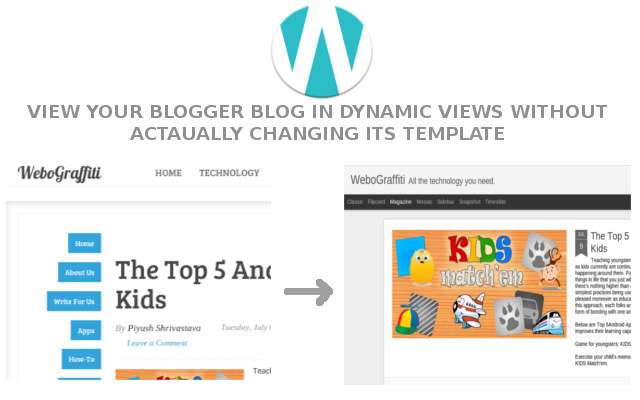 Use Dynamic Views And Your Template Simultaneously On Your Blogger Blog