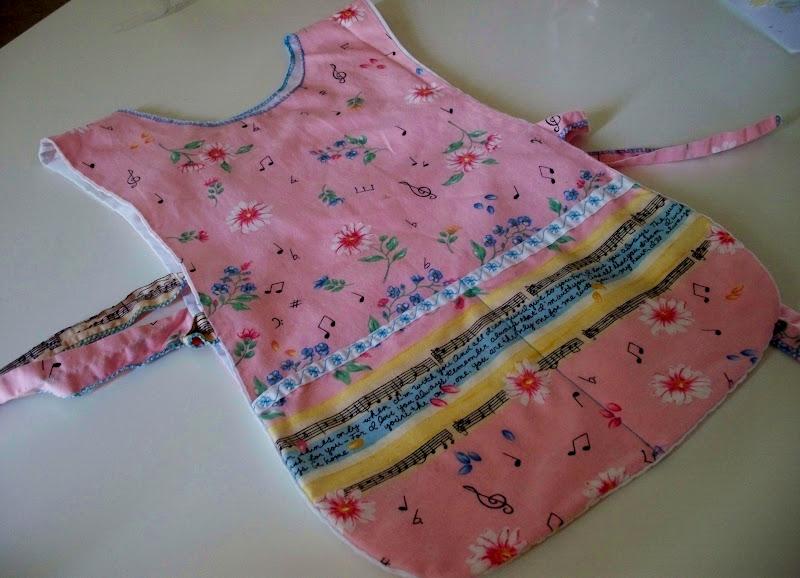 homemade handmade apron