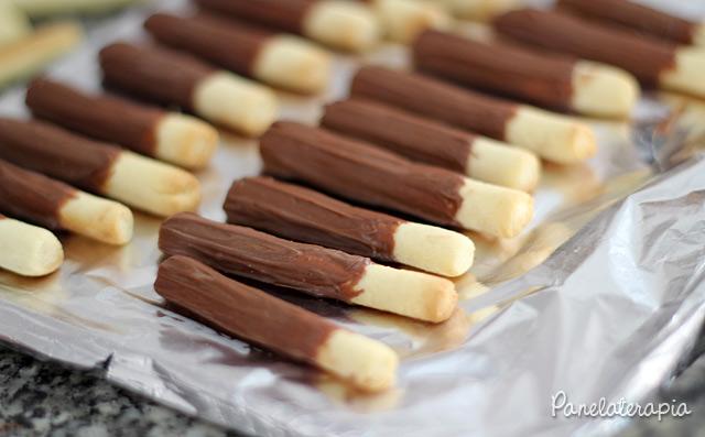 Palitinhos de Chocolate Mães Brasileiras