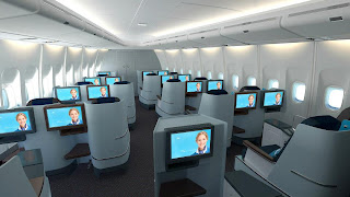 KLM's new World Business Class (WBC) cabin interior – including a new full-flat seat
