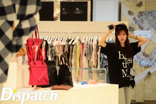 Hyomin Shopping Di Jepang 02