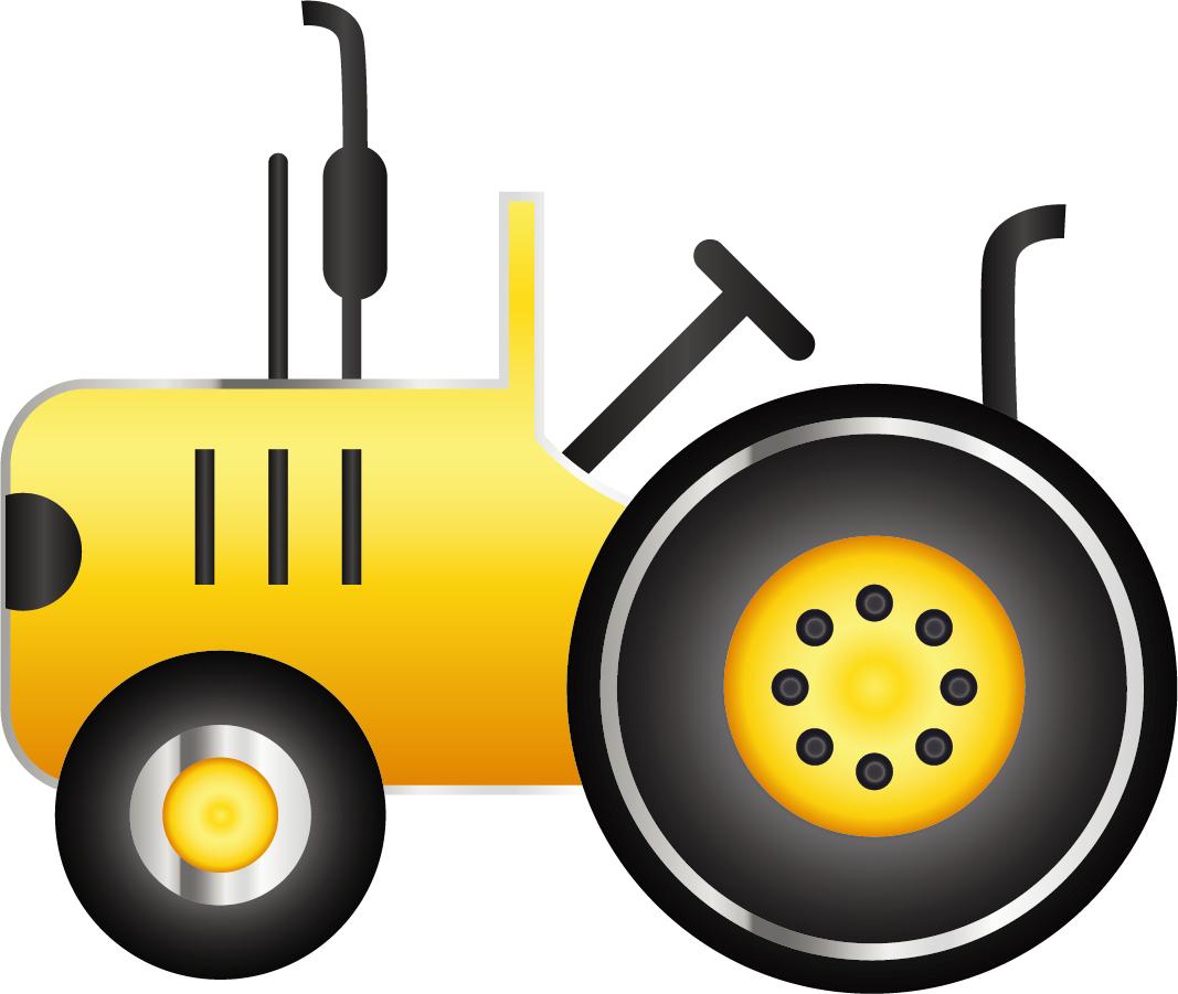 トラクター アイコン Vector Tractor Icon イラスト素材