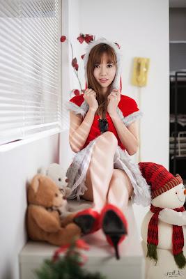 Han Min Young Christmas Girl Beauty