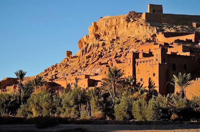 Ksary i kazby Maroka - Maroko część szósta