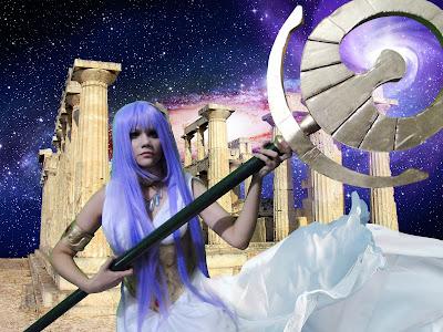 Athena cosplay