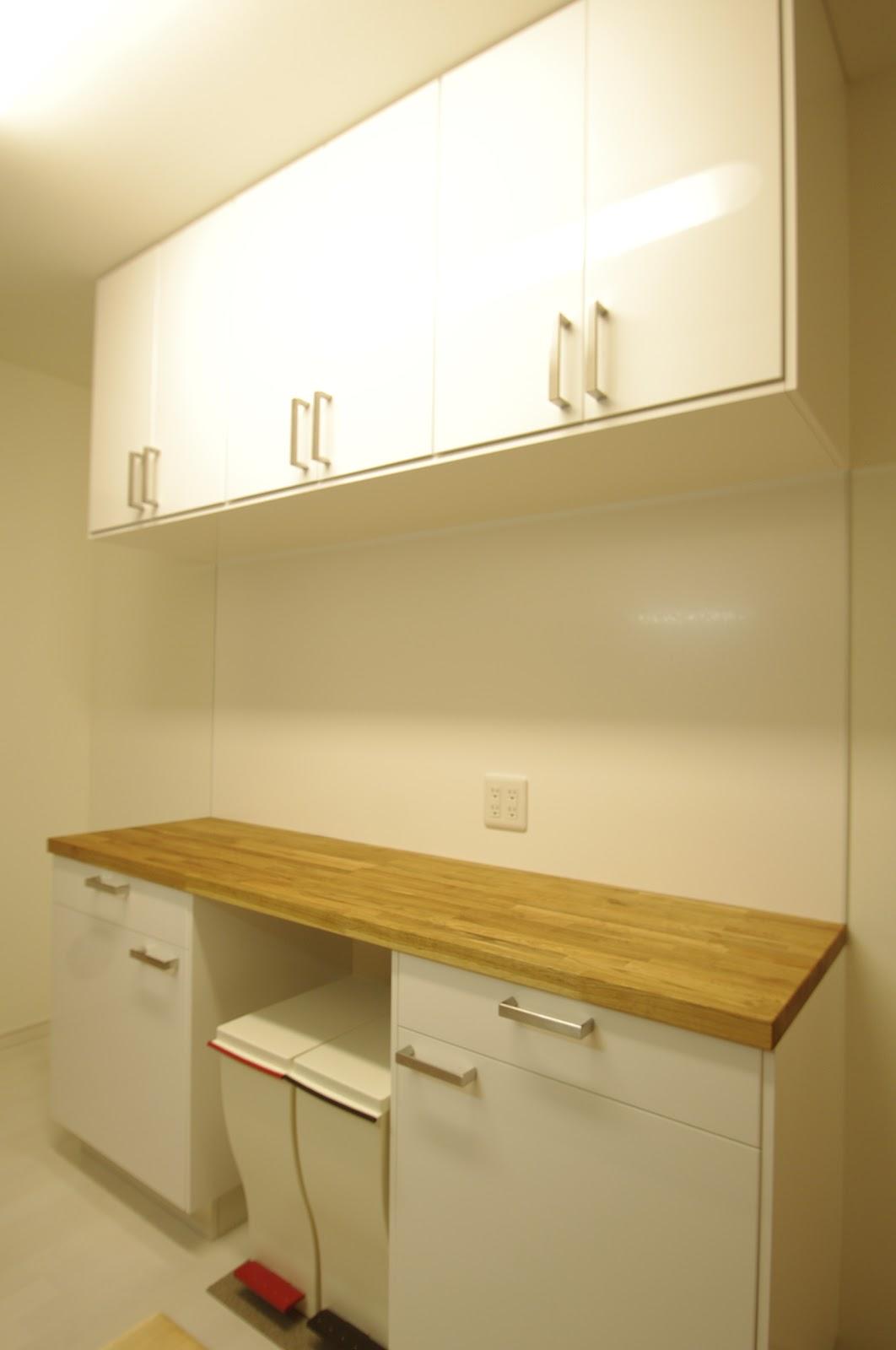 IKEAで作るキッチン食器棚