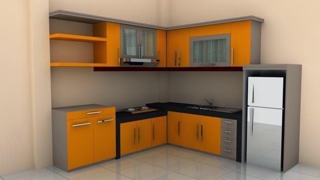 gallery for kitchen set sederhana