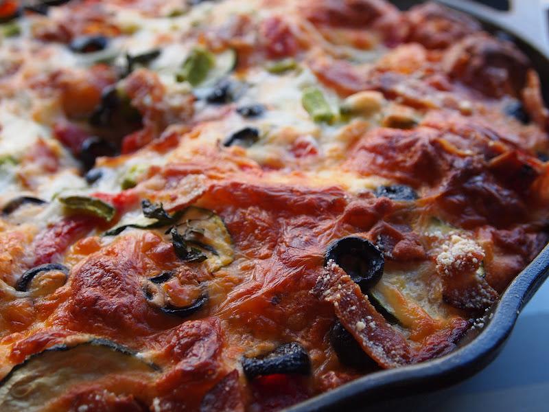 pretty kitten's kitchen: Bubble-Up Pizza Casserole
