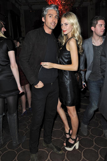 Temperley London George Lamb and Poppy Delevigne