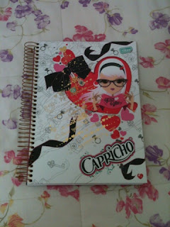 Caderno da capricho