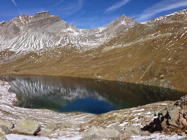 mit Strich und Faden |See val Ravais-ch Graubünden Schweiz