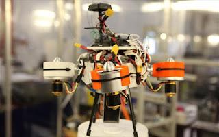Ιπτάμενο ρομπότ- εξερευνητής άλλων πλανητών