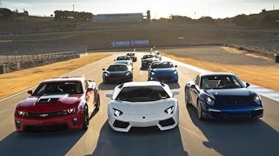 Racha com os carros mais cobiçados do mundo
