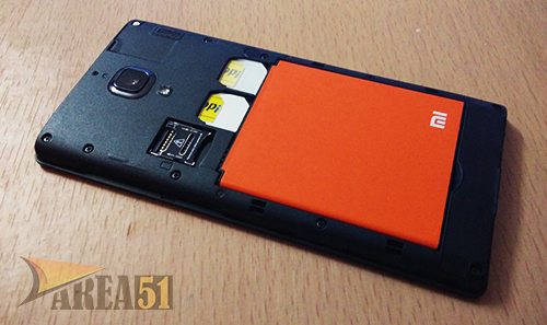 Redmi 1S back