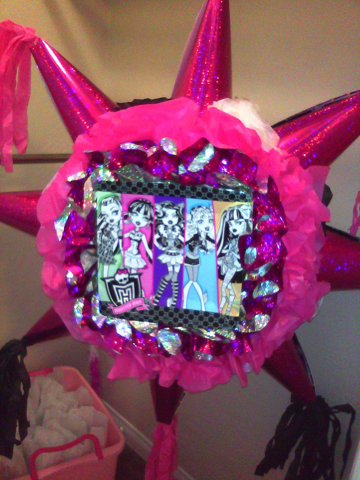 Decoracio  N De Fiestas De Monster High 7