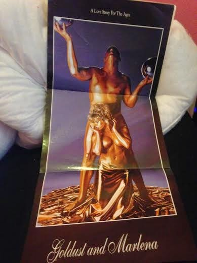 WWE - WWF RAW MAGAZINE 1997: Goldust and Marlena poster