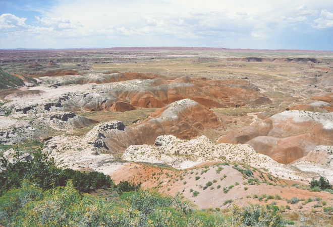 The Flying Clubhouse: Painted Desert