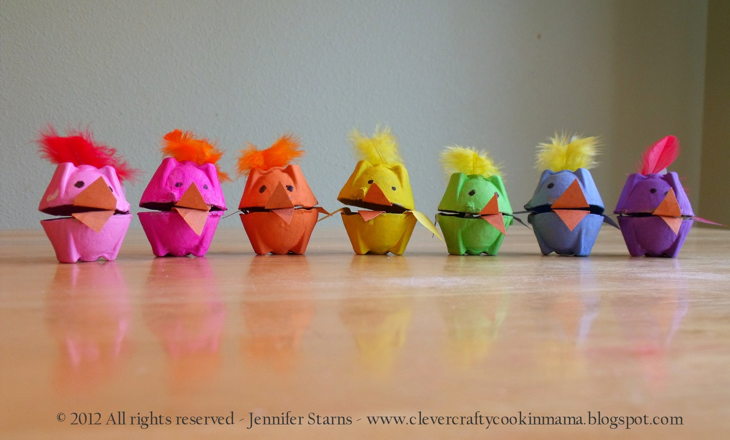 Clever Crafty Cookin Mama Easter Chicks Craft