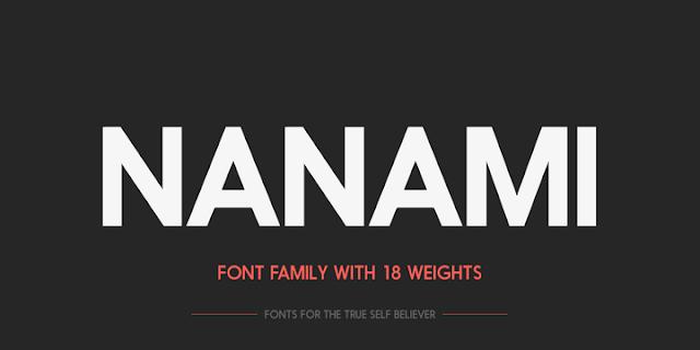 Font-Nanami-Free