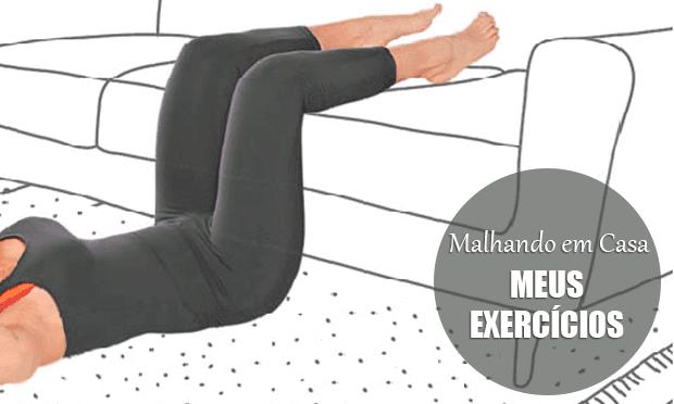 #6 Malhando em casa: meus exercícios - quadríceps, glúteo e panturrilha