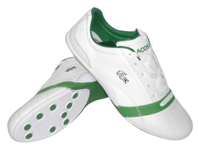 Lacoste Shoes Mens Sokar White