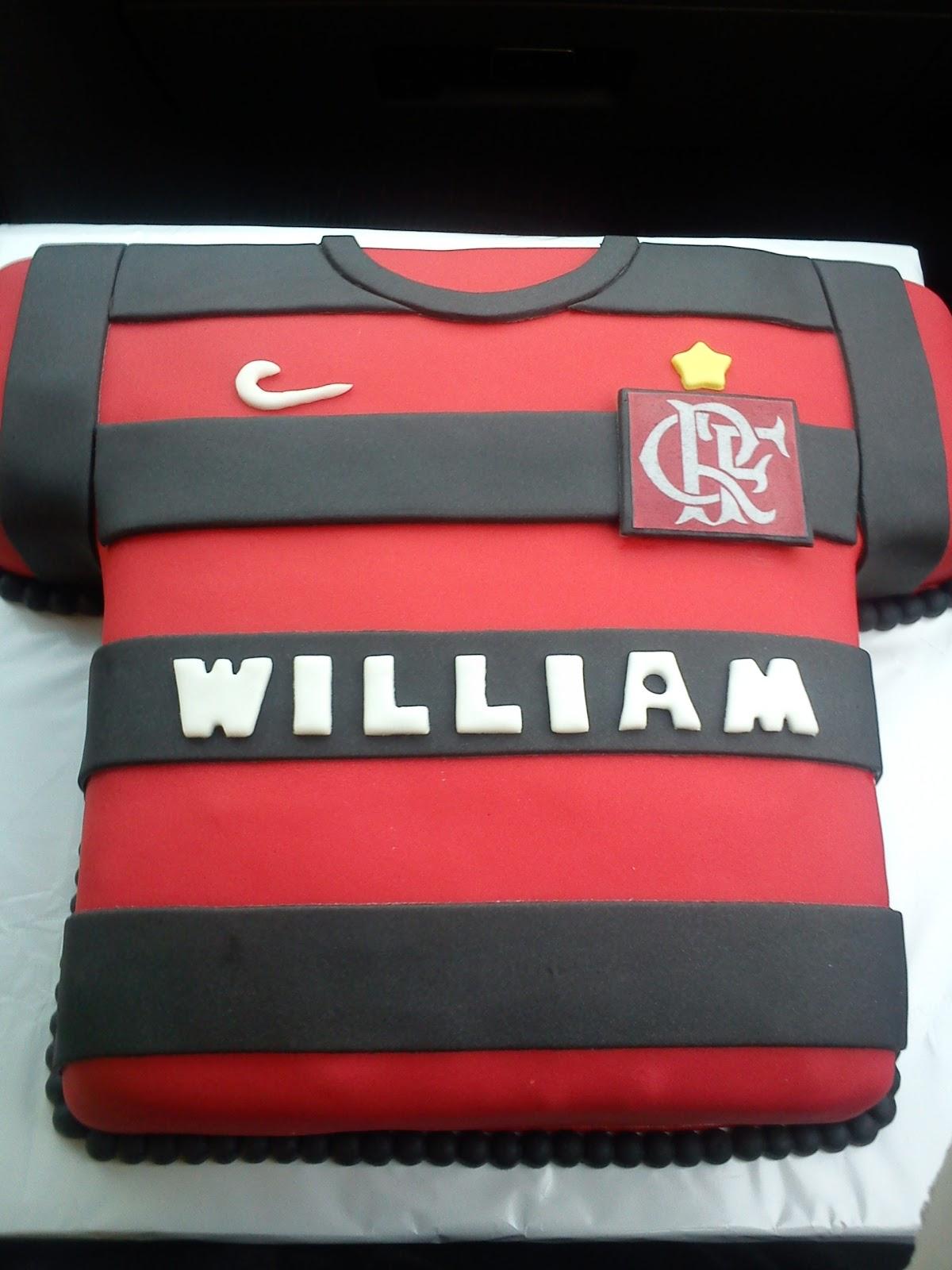 Bolo Camisa Do Flamengo