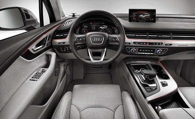 Yeni Audi Q7 de üst sınıf konfor