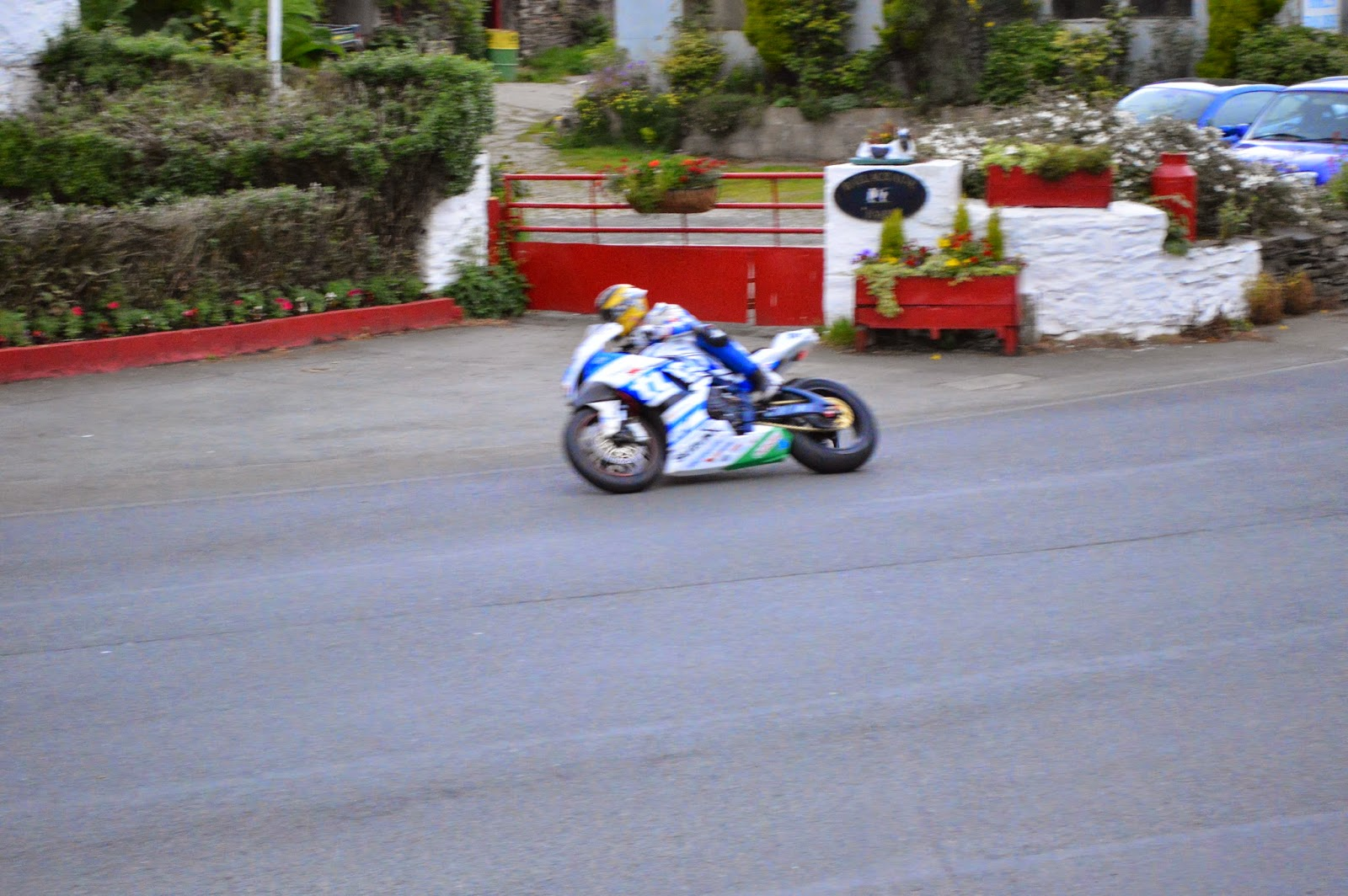 Guy Martin en Ballacraine TT