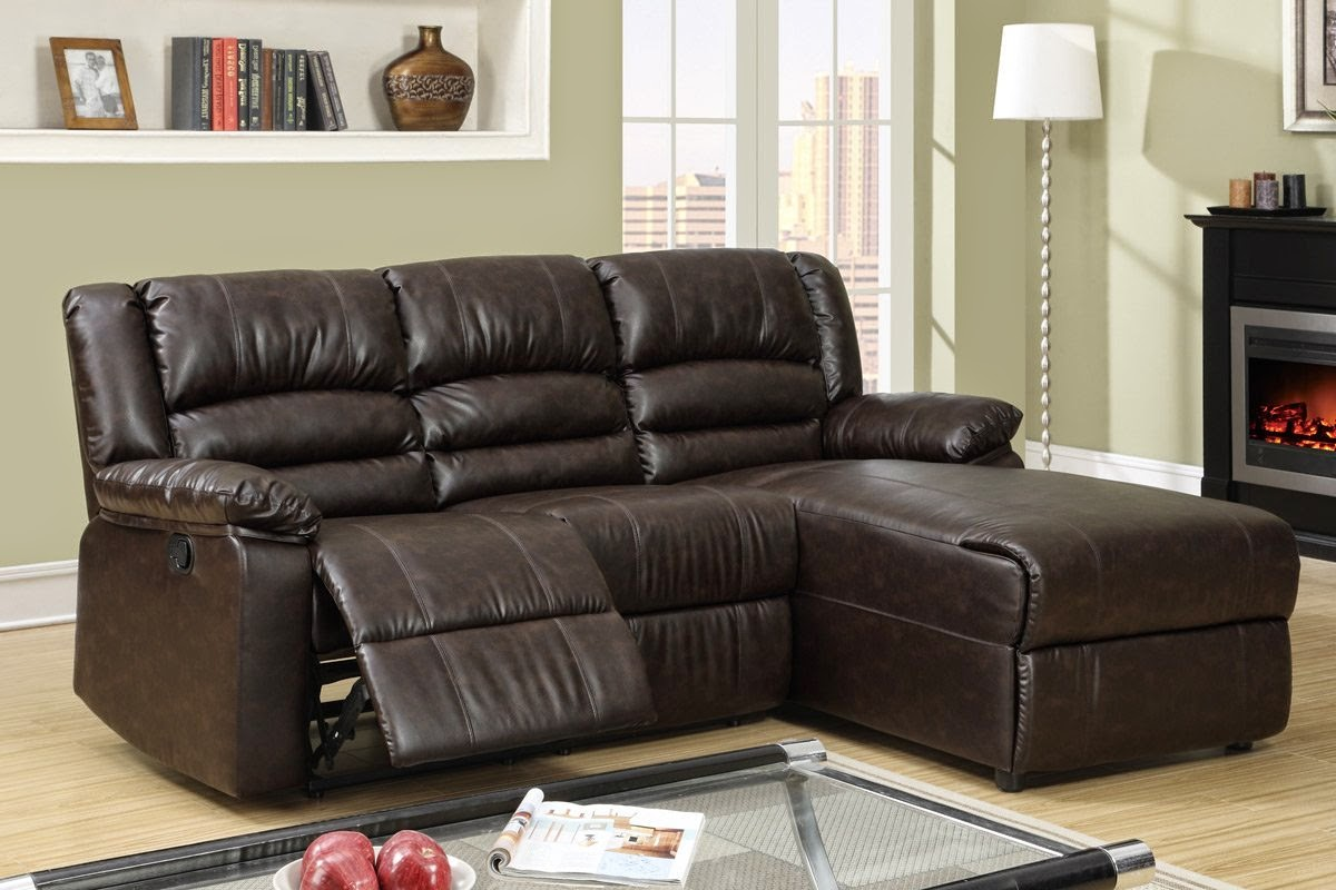 leather reclining sectional sofas with