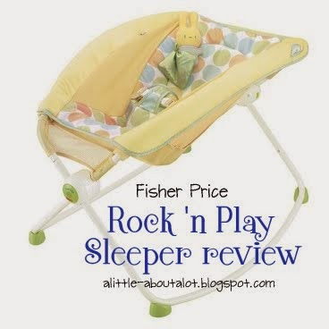 Fisher Price Rock 'n Play Sleeper Review - A Little about a Lot
