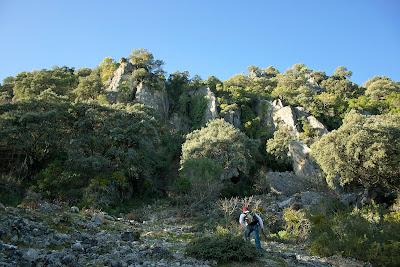 Ladera este del Albarracín