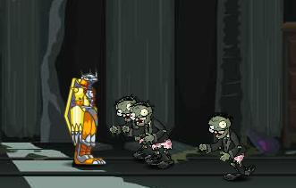 Digimon diệt Zombie, chơi game hành động digimon cực hay