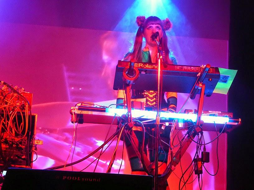 Anais Neon : Vile Electrodes live @ Electronic Circus 2014 / photo S. Mazars
