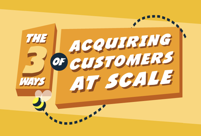 How to Acquire Customers At Scale #Infographic #internetmarketing