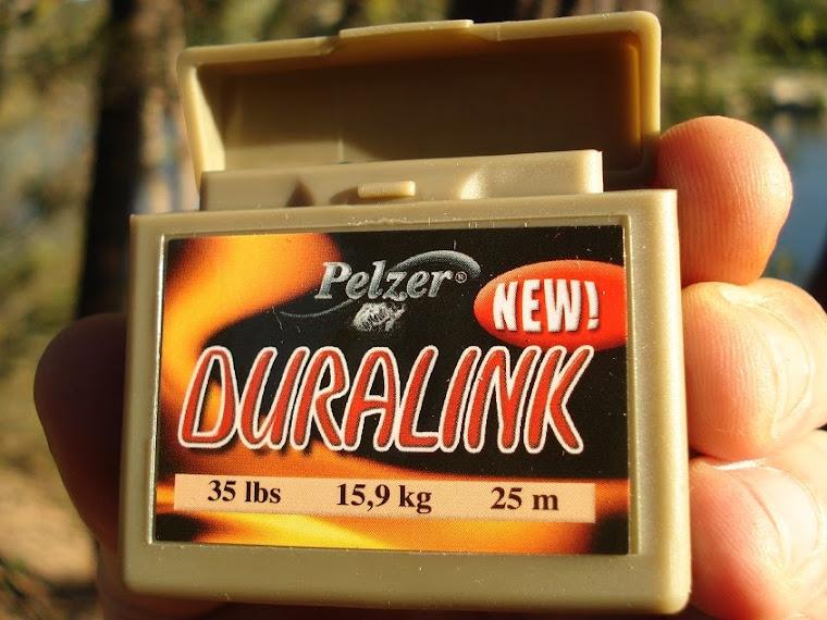 E uma vez que pescava em obstáculos, precisava de um estralho potente... O Duralink da Pelzer