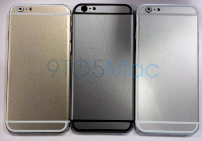 iPhone 6 金色、太空灰、銀色流出