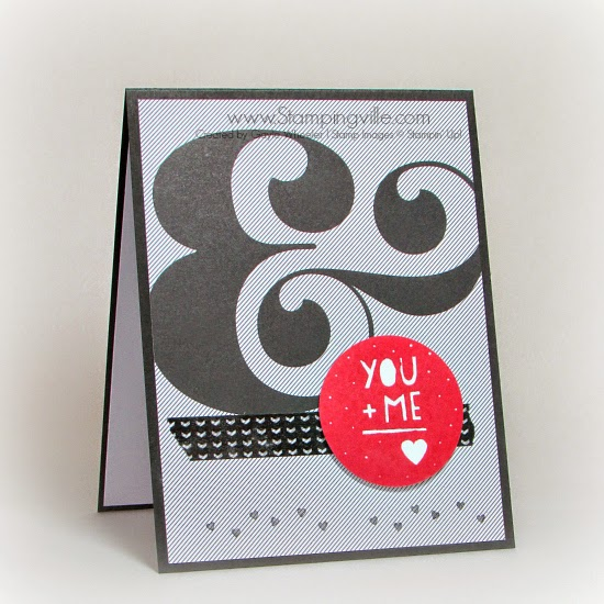 Stampin' Up! You Plus Me Valentine's Day Card | Stampingville #cardmaking #papercrafts #StampinUp #Valentines