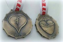 Medale II BIEGU DO SERCA