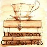 Livros com Chá das Três